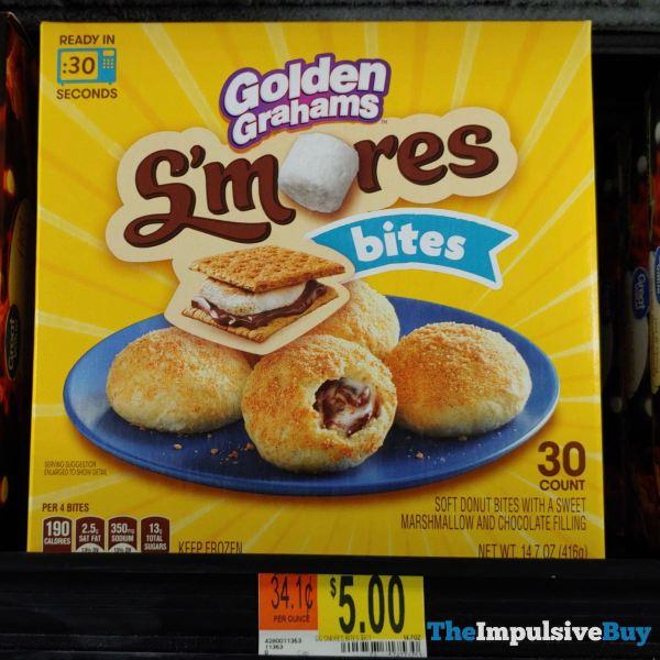 Golden Grahams S mores Bites