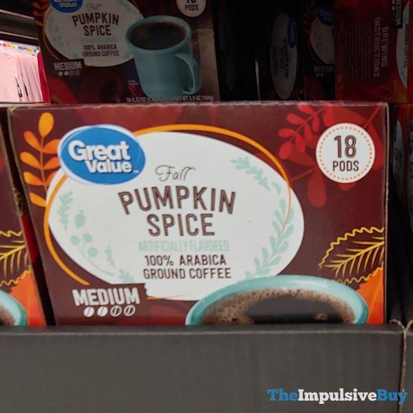 Great Value Fall Pumpkin Spice K Cups