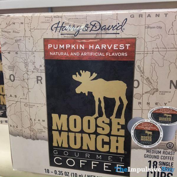Harry  David Pumpkin Harvest Moose Munch Gourmet Coffee K Cups