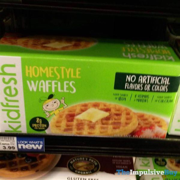 Kidfresh Homestyle Waffles