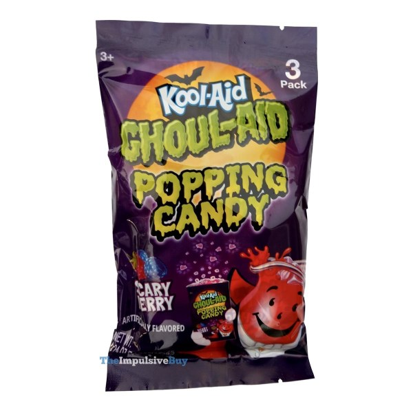Kool Aid Ghoul Aid Scary Berry Popping Candy
