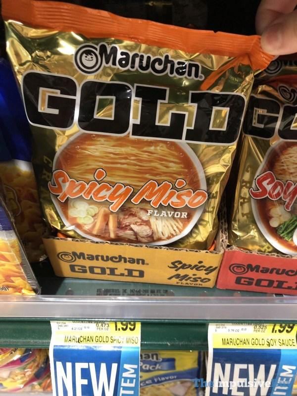 Maruchan Gold Spicy Miso