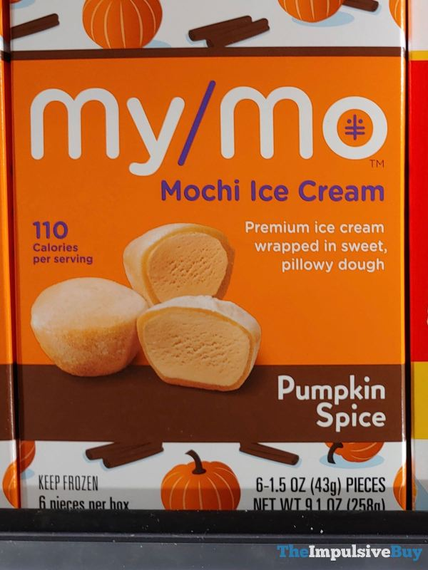 My Mo Pumpkin Spice Mochi Ice Cream