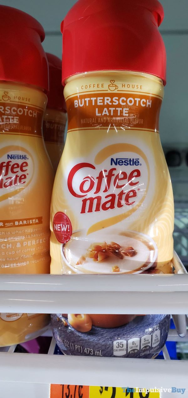 Nestle Coffee mate Butterscotch Latte Creamer
