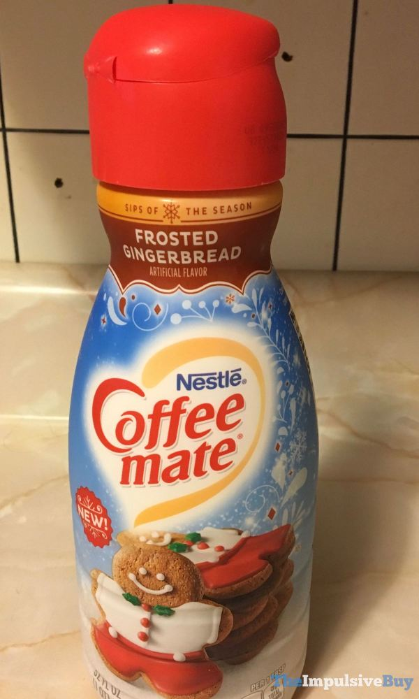 Nestle Coffee mate Frosted Gingerbread Creamer