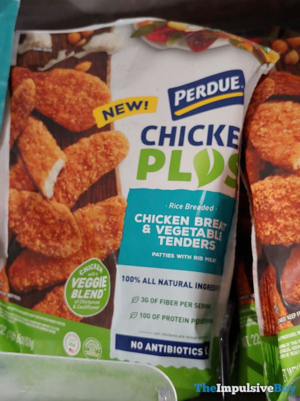 Perdue Chicken Plus Rice Breaded Chicken Breast  Vegetable Tenders