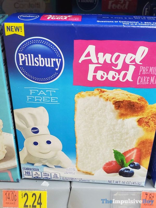 Pillsbury Angel Food Premium Cake Mix