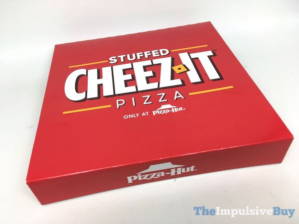 Pizza Hut Stuffed Cheez It Pizza Box