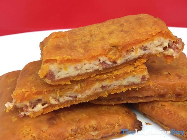 Pizza Hut Stuffed Cheez It Pizza Filling