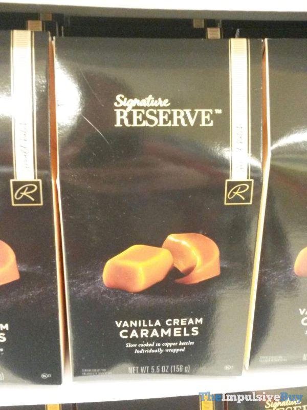 Safeway Signature Reserve Vanilla Cream Caramels