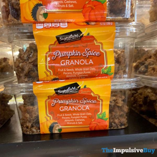 Signature Select Seasons Pumpkin Spice Granola