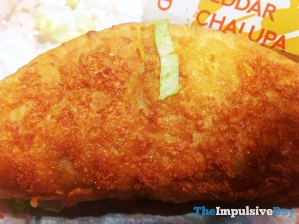 Taco Bell Toasted Cheddar Chalupa 3