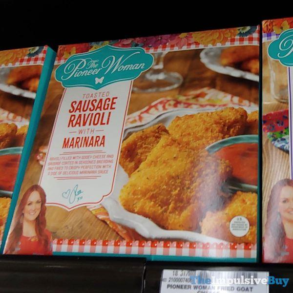 The Pioneer Woman Toasted Sausage Ravioli with Marinara