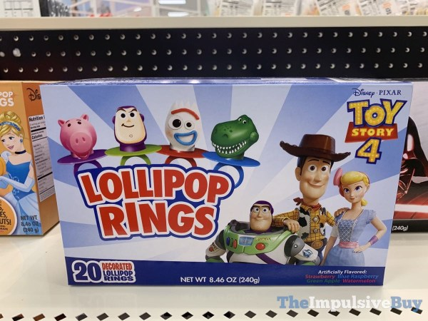 Toy Story 4 Lollipop Rings