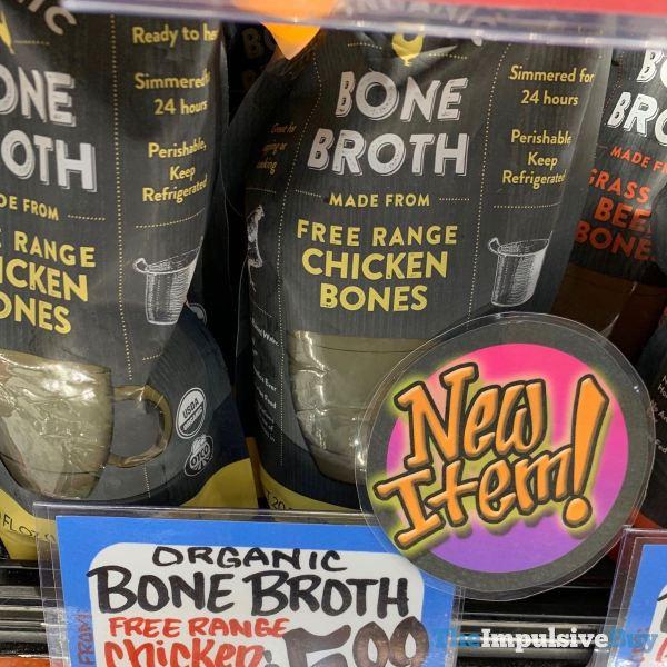 Trader Joe s Bone Broth Made From Free Range Chicken Bones