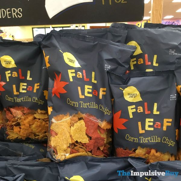Trader Joe s Fall Leaf Corn Tortilla Chips