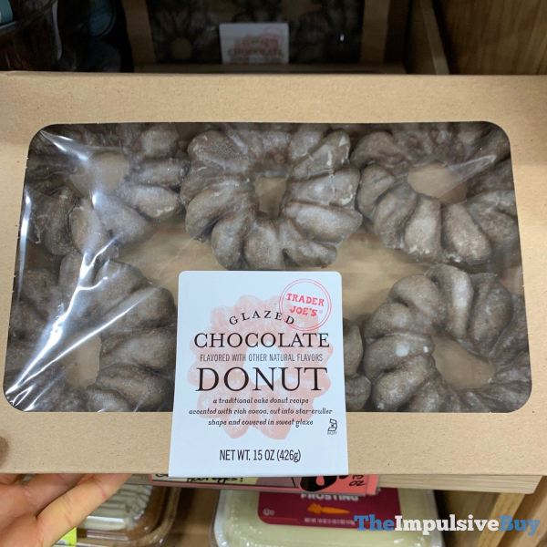 Trader Joe s Glazed Chocolate Donut