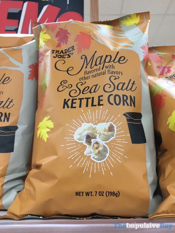 Trader Joe s Maple  Sea Salt Kettle Corn