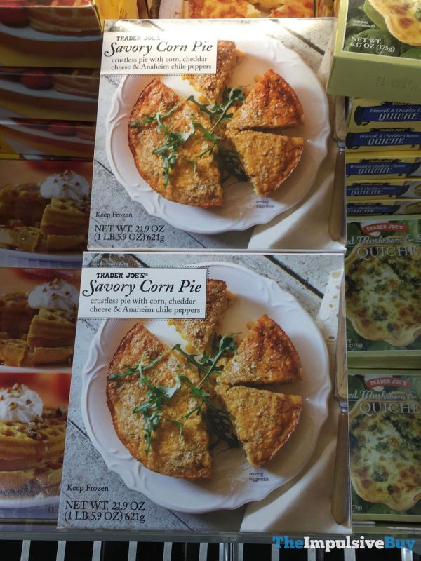 Trader Joe s Savory Corn Pie