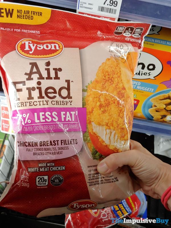 Tyson Air Fried Chicken Breast Fillets