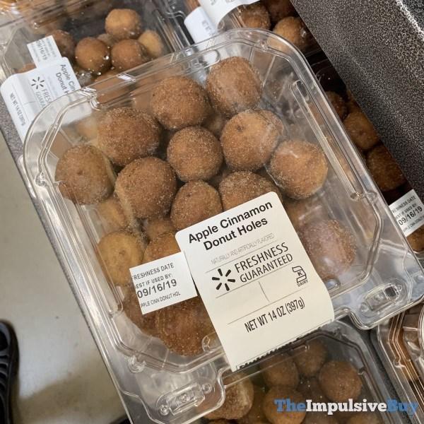 Walmart Apple Cinnamon Donut Holes