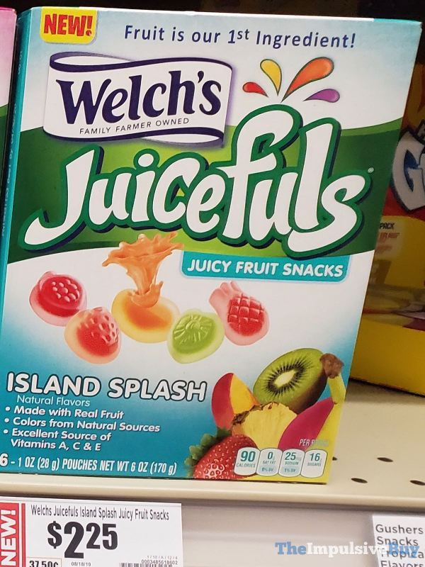 Welch s Island Splash Juicefuls Juicy Fruit Snacks
