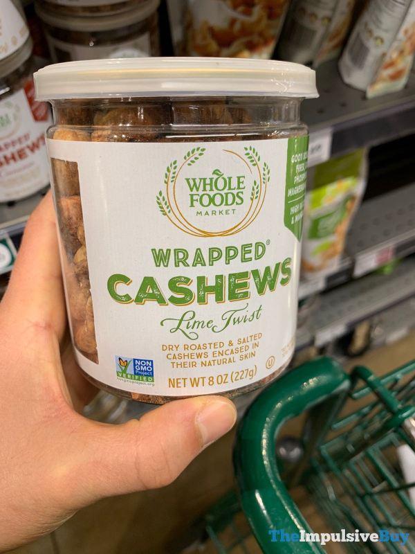 Whole Foods Lime Twist Wrapped Cashews