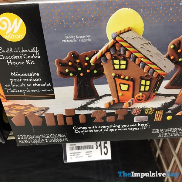 Wilton Chocolate Cookie House Kit