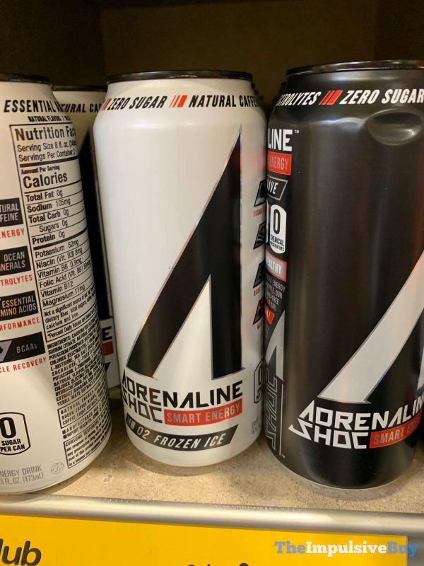 Adrenaline Shoc Frozen Ice Energy Drink