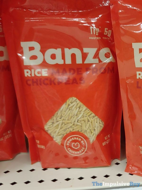 Banza Rice Made from Chickpea