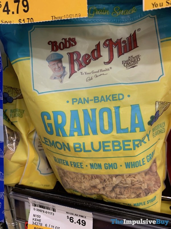Bob s Red Mill Pan Baked Lemon Blueberry Granola