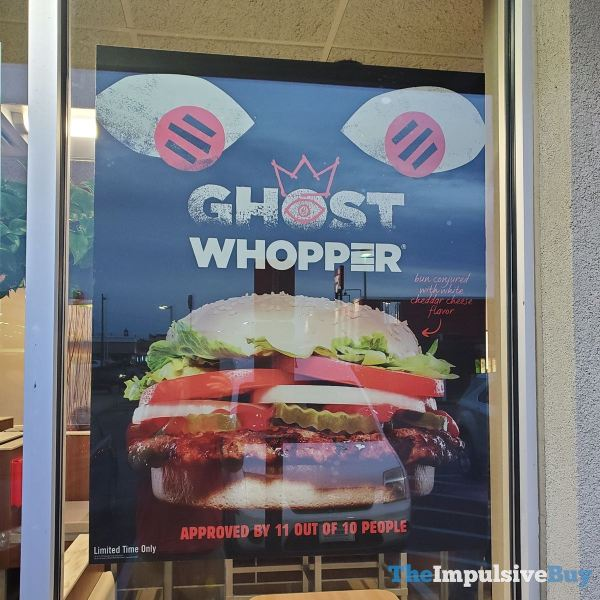 Burger King Ghost Whopper 4