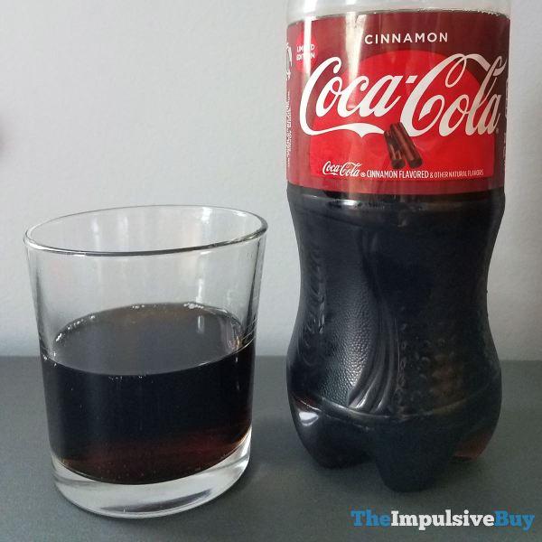 Coca Cola Cinnamon Closup