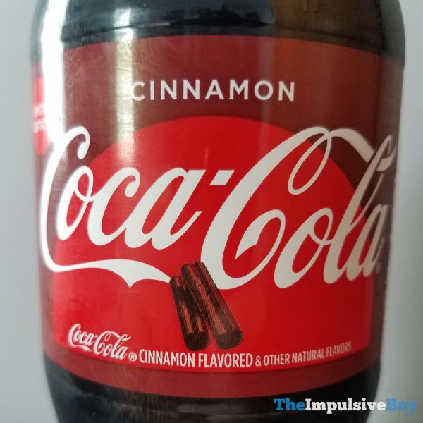 Coca Cola Cinnamon Label