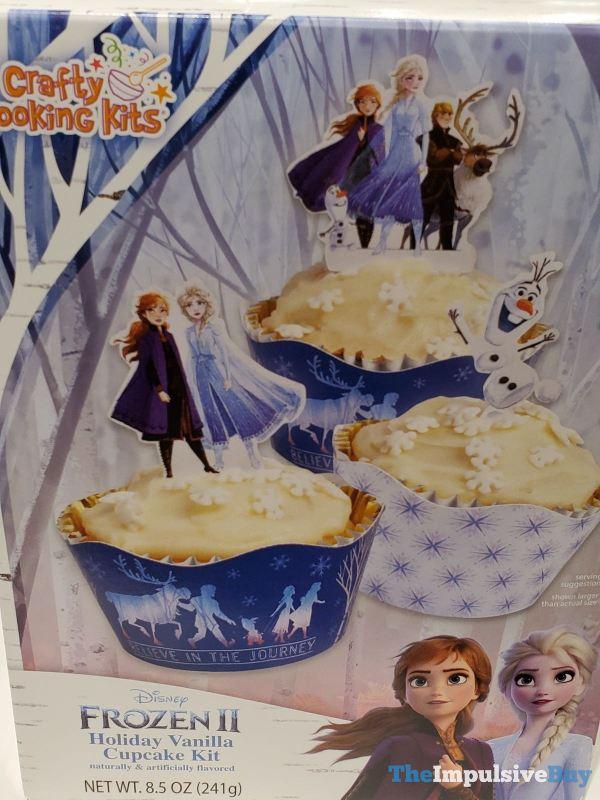 Crafty Cooking Kits Disney Frozen II Holiday Vanilla Cupcake Kit