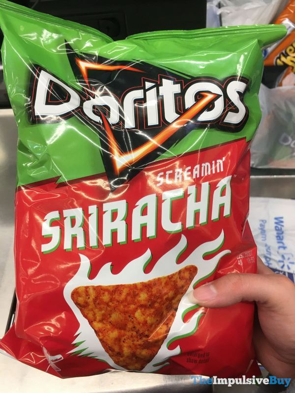 Doritos Screamin Sriracha