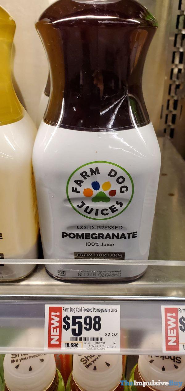 Farm Dog Juices Cold Pressed Pomegranate Juice