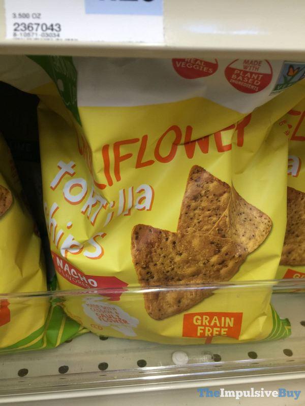 From the Ground Up Nacho Cauliflower Tortilla Chips