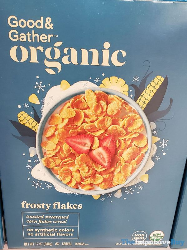 Good  Gather Organic Frosty Flakes Cereal