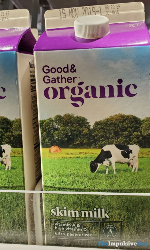 Good  Gather Organic Skim Milk