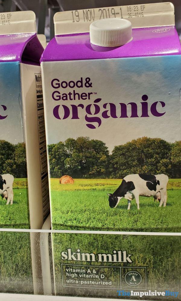 Good  Gather Organic Skim Milk