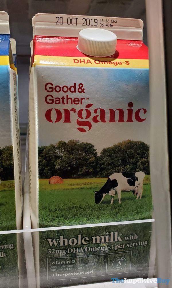 Good  Gather Organic Whole Milk with DHA Omega 3