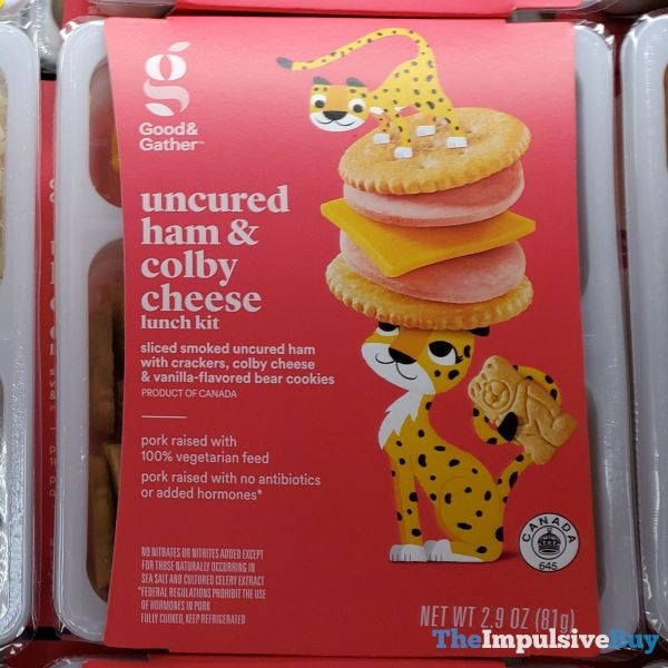 Good  Gather Uncured Ham  Colby Cheese Lunch Kit
