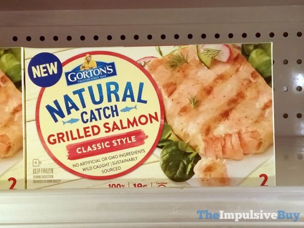 Gorton s Natural Catch Classic Style Grilled Salmon