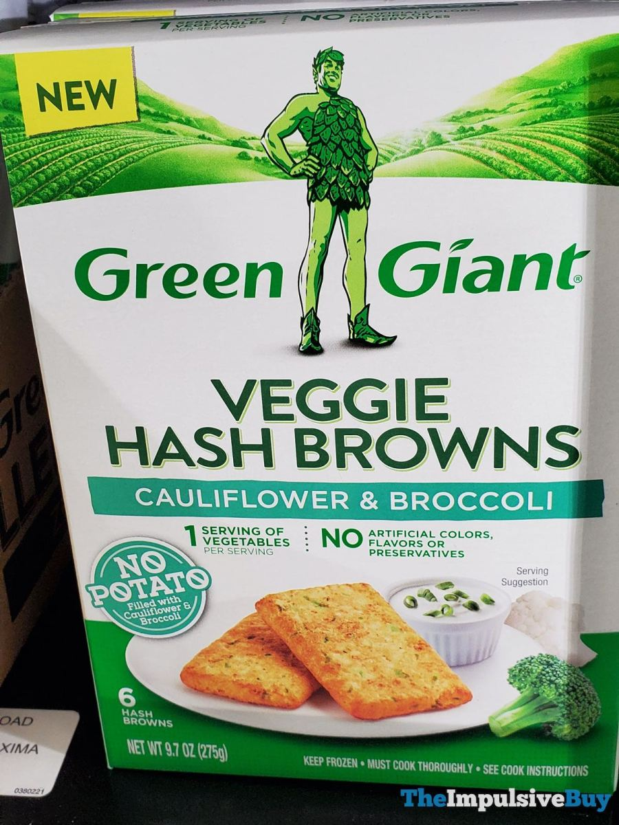 Green Giant Cauliflower & Broccoli Veggie Hash Browns