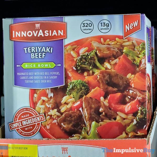 InnovAsian Teriyaki Beef Rice Bowls