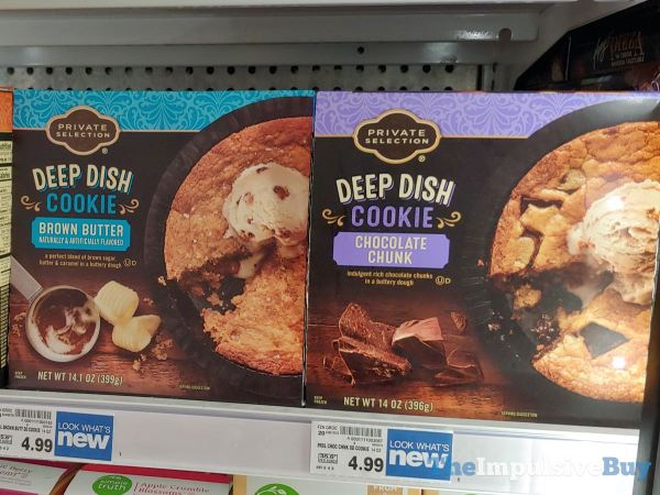 Kroger Private Selection Deep Dish Cookies