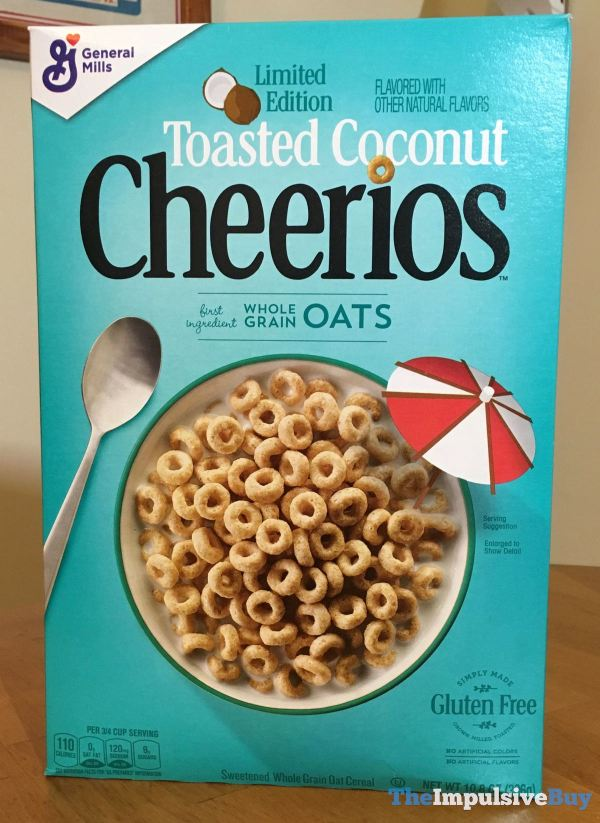 Limited Edition Toasted Coconut Cheerios