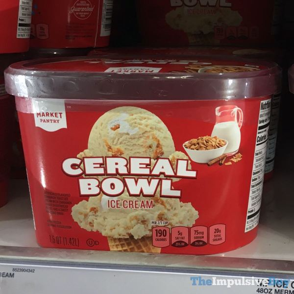 Market Pantry Cereal Bowl Ice Cream