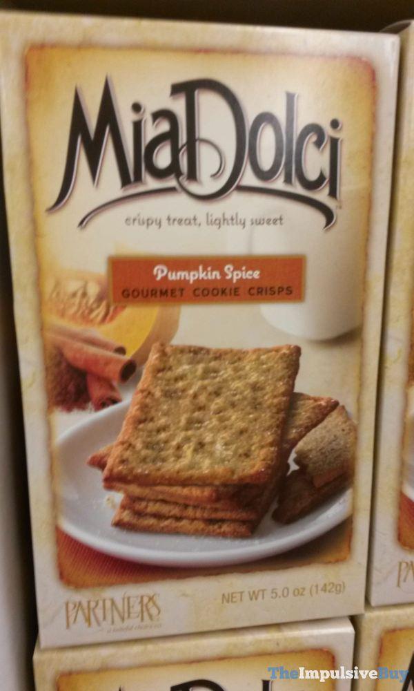MiaDolci Pumpkin Spice Gourmet Cookie Crisps